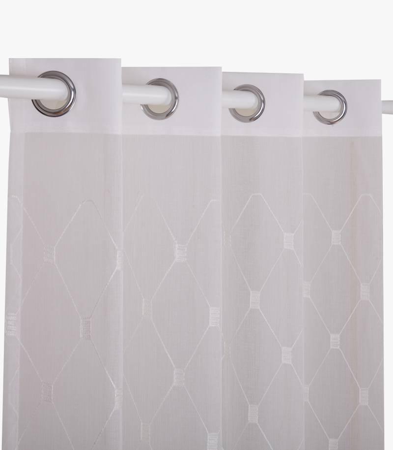 Jacquard Voile Curtain