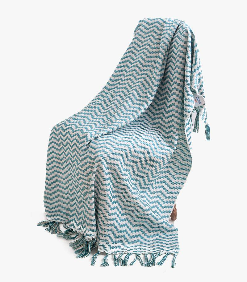 Polyester Jacquard Throw