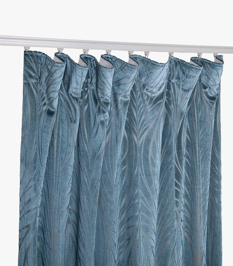 Burnout Velvet Curtain