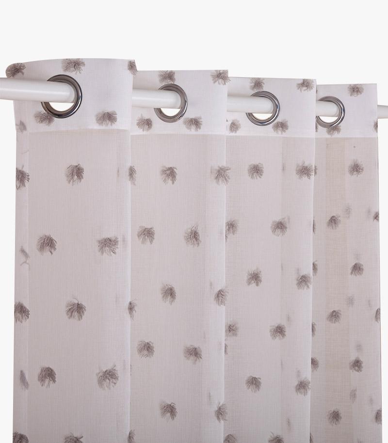Tufted Jacquard Curtain